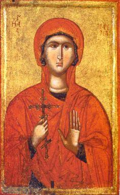 Byzantine Icons, Byzantine Art, Ste Marguerite, St Margaret, Russian Icons, Russian Orthodox, Religious Icons, Catholic Art, Orthodox Icons
