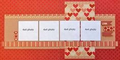 So simple...use my paper...four neat and tidy square photos | Scrapbook Generation