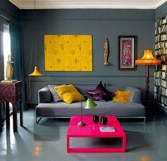 #excll #дизайнинтерьера #решения Несмотря на многие негативные ассоциации, серый очень благороден.