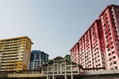 HDB Flats of Rochor Centre, Singapore. Soon to be demolished to give way to an expressway =(