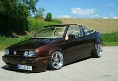 Vw Golf Cabrio, Golf Mk3, Vw Cabriolet, Convertible, Car Mods, Weird Cars, Vw Beetles, Vw Passat, Hot Cars