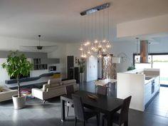 miniature Maison contemporaine avec un grand espace de 70 m2, Saclay, Aurore Pannier - décorateur d'intérieur