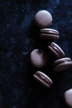 Coffee Macarons Recipe via Bakers Royale