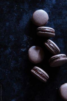 Coffee Macarons Recipe via Bakers Royale