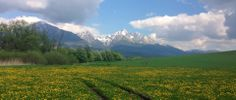 Poprad Mountains, Nature, Travel, Voyage, Viajes, Traveling, The Great Outdoors, Trips, Mother Nature