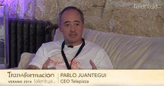 #Fundestic y Pablo Juantegui #CEO de #Telepizza hablando de transformación #empresarial en esta #entrevista