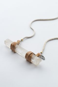 Crystal Visions Leather Baton Necklace « Spell & the Gypsy Collective.