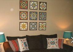 Mexican tile art tutorial