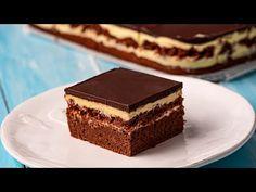 Prajitura Noapte Venetiana • Gustoase.net Cake Hacks, Romanian Food, Food Cakes, Tiramisu, Creme, Delicious Desserts, Cake Recipes, Deserts, Cookies
