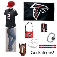 51 Best Atlanta Falcons Fashion, Style, Fan Gear images | Atlanta