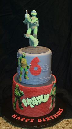 TMNT cake | Mick's Sweets - Flickr - Photo Sharing!