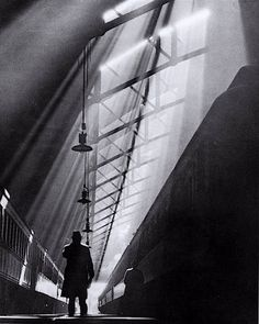 William M. Rittase Light Rays on Trains, La Salle Street Station, Chicago, 1931 From the book A Personal View: Photography in the Collection of Paul F. Walter
