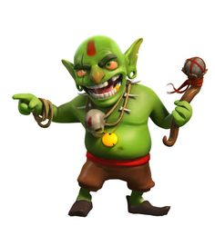 Clash of Clans goblin King
