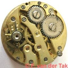 AS 568  Features manual wind  Data10.5''', Dm= 23.3mm  8 jewels f = 18000 A/h  Remarks cylinder escapement  1936: - AS 568, Ebauches-SA logo from 1936 (TR in shield)