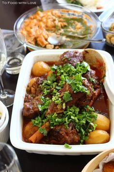 The first time I had lamb shanks was at Mulligan's,  an Irish restaurant in Sydney. I remember how tender the meat was and it j...