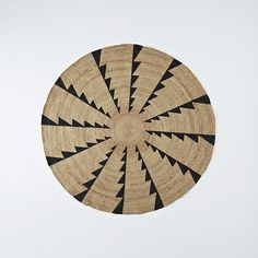Thrilled to see west elm team up with Santa Fe's Museum of Indian Arts & Culture.   MIAC Whirlwind Jute Rug | west elm
