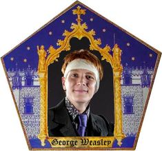 Craftster Photo Hosting - Chocolate Frog Card for Witch of the Week - Powered by PhotoPost Deco Noel Harry Potter, Magia Harry Potter, Harry Potter Gifts, Harry Potter Theme, Harry Potter Birthday, Harry Potter Characters, Hogwarts, Imprimibles Harry Potter, Harry Potter Christmas Decorations