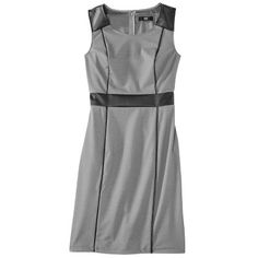 Mossimo® Women's Sleeveless Dress w/ Faux Le... : Target Mobile
