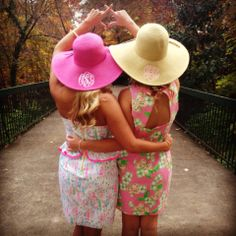 Chi Omega, Lilly, and the Kentucky Derby. TSM.
