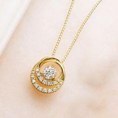 Ct Round Cut Diamond Circle Pendant Solid Yellow Gold Over Gold Pendent, Pendant Set, Diamond Pendant, Pendant Jewelry, Gold Jewelry, Jewelry Accessories, Jewelry Design, Men's Jewellery, Designer Jewellery