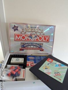 Monopoly the #america special edition - all #pieces still #sealed,  View more on the LINK: http://www.zeppy.io/product/gb/2/381965630563/