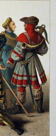German Costume, Hunting Bags, Landsknecht, Royal Court, Renaissance Clothing, Medieval Fantasy, 16th Century, Warriors, Character Design