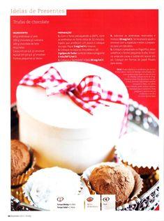 Revista bimby pt0001 - dezembro 2010 Panna Cotta, Muffin, Breakfast, Ethnic Recipes, Desserts, Recipe Journal, December, Oven, Gifts