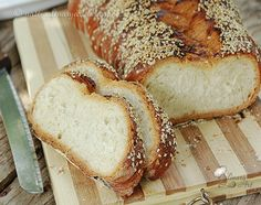 Sweet Challah Bread - חלה מתוקה (הכי טעימה! אבל הכי הכי הכי!) Culinary Arts, Bread, Blog, Brot, Blogging, Baking, Breads, Buns