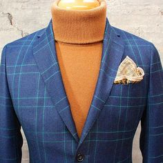 Warm layers cold day.  This made in Italy suit is from #OliverGrey. Now who's bold enough?