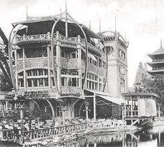 Restaurant Le Pavillon Bleu - Paris, Exposition universelle de 1900