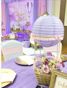 Air balloons Baby Shower Party Ideas | Photo 1 of 13