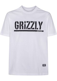 Titus DailyDeal: Grizzly OG-Stamp-Logo - titus-shop.com  #TShirt #MenClothing #titus #titusskateshop