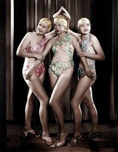 1930s Chorus Girls