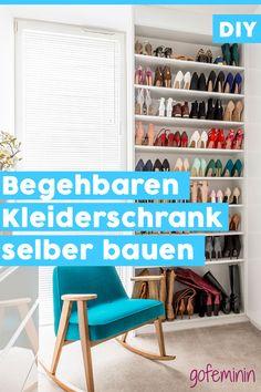Begehbaren Kleiderschrank Günstig Selber Bauen: So Gehtu0027s Step By Step!  Begehbarer Kleiderschrank Günstig,