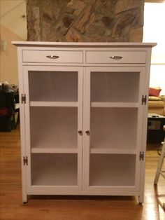 Hemnes linen cabinet finished! | Do It Yourself Home Projects from Ana White