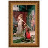 Found it at Wayfair - The Accolade, 1901 by Edmund Blair Leighton Framed Painting Print