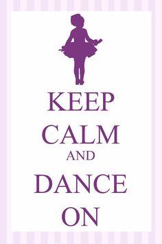 and Dance On.........Free printable