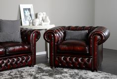 Clubsessel Oxford | Chesterfield Sessel | VON WILMOWSKY®