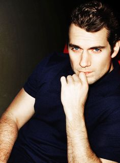 Henry Cavill, I can't I just cant!! Those eyes that jawline ugh beautiful :)