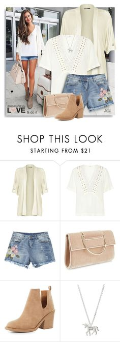 """""""Summer Staple: Denim Cutoffs"""" by breathing-style ❤ liked on Polyvore featuring WearAll, A.L.C., Miss Selfridge, Qupid and Estella Bartlett"""