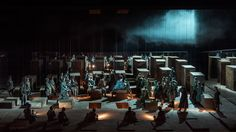 15 Février 2016 Opéra Bastille  LE TROUVERE  Anna Netrebko 👑 ,Marcelo Alvarez 👑 ,Ekaterina Semenchuk 🎶 , Ludovic Tézier 🎶 Dir : D. Callegari 💤 M e sc : A. Ollé ( La Fura dels Baus)💤