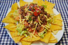 Receta de Aperitivos Taco Salad Ensalada de Taco