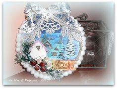 LE IDEE DI PENELOPE: un home decor natalizio molto ricicloso