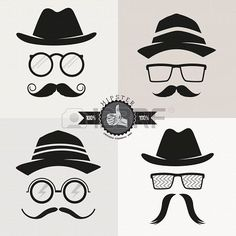 Hipster Glasses, Hats