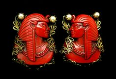 VINTAGE-40'S-RED-EGYPTION-earings-475x324