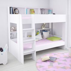 Aerial Single Bunk Bed