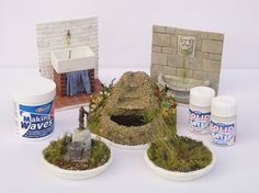 Catherine Davies demonstrates how to recreate the effect of moving water in your miniature scenes