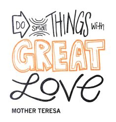 Thank you, moms, for all the small (and large) things you do with great love for your families. Catholic Confirmation, Dynamic Catholic, School Quotes, Calligraphy Letters, Mother Teresa, Religious Quotes, Great Love, Happy Mothers Day, Wise Words