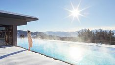Wellnesshotel Südtirol bei Meran: 5 Sterne Hotel Chalet Mirabell Paradise Pools, Tolle Hotels, Riding Holiday, Natural Swimming Ponds, Spa, Relaxation Room, South Tyrol, Luxury Holidays, Cool Pools