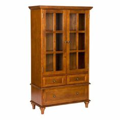 $259 Wherever Cabinet: Walnut Wood - Picture 1